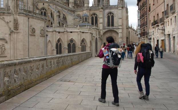 Más de 30.000 peregrinos pasan por el albergue municipal de Burgos