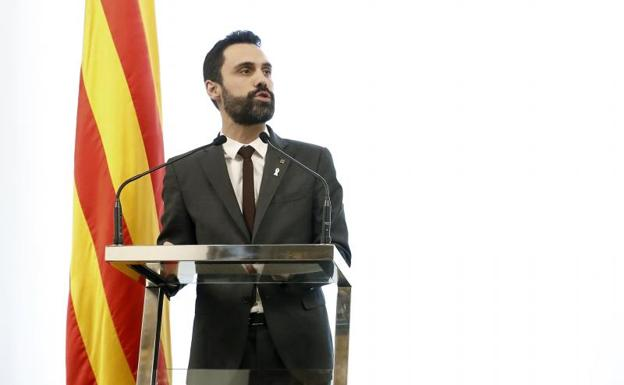 El presidente del Parlament, Roger Torrent./Efe