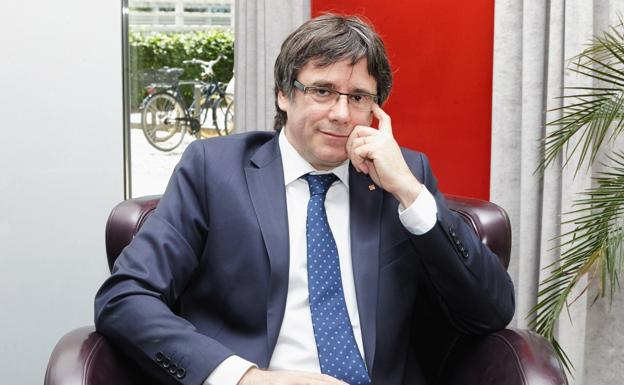 Carles Puigdemont./Hayoung Jeon (Efe)