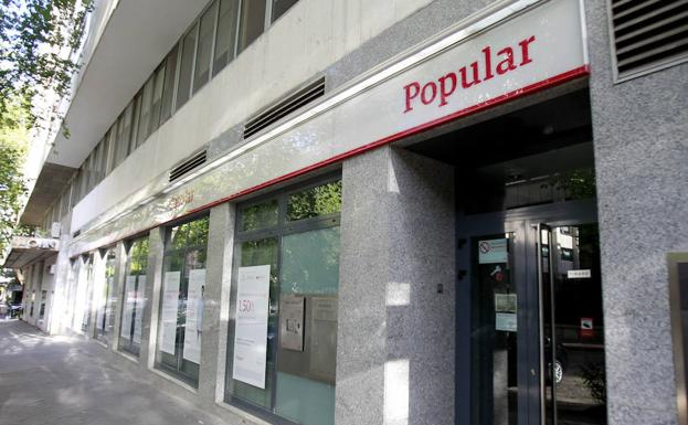 Antigua sucursal del Banco Popular./R. C.