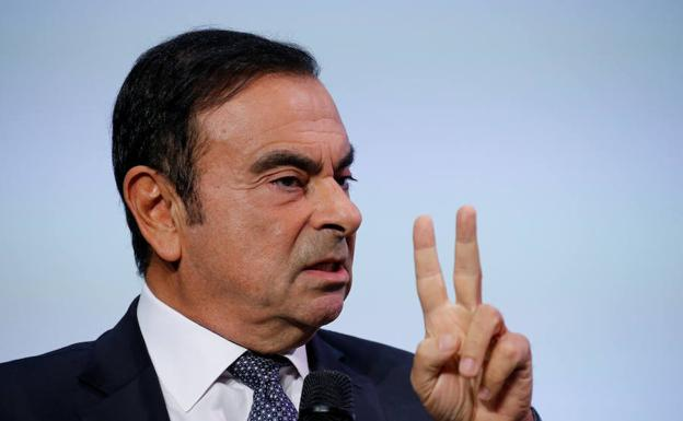 Carlos Ghosn, presidente de Nissan./Reuters