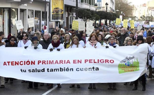 Cabeza de la manifestación/Ricardo Ordóñez/ICAL