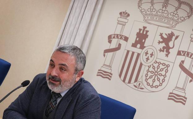 El subdelegado del Gobierno en Burgos, Pedro de la Fuente, ha valorado los presupuestos. /GIT