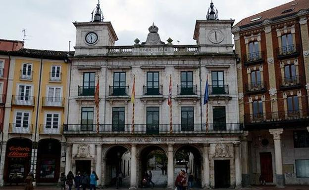 Ayuntamiento de Burgos. /BC