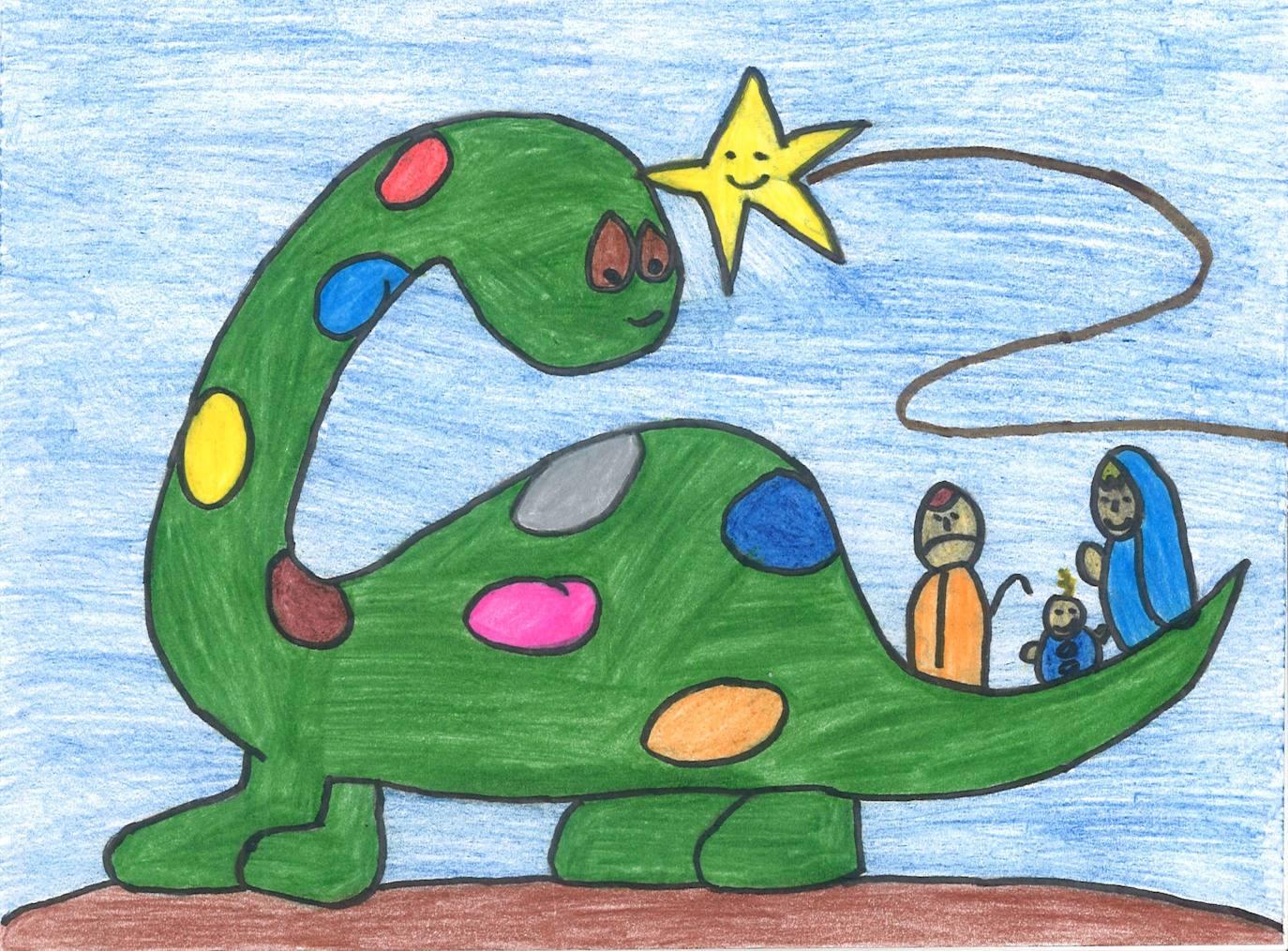 Los Dinosaurios Y La Navidad Vuelven A Unir Talento En El Concurso De Tarjetas Navidenas Burgosconecta El mundo de los dinosaurios explicado para niños con imágenes y video. los dinosaurios y la navidad vuelven a