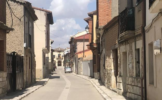 Sotillo de la Ribera está aislada desde ayer. /S.G.