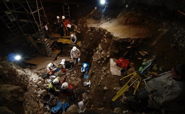 Portalón de Atapuerca. /UBU